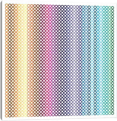 Modern Art- Pride Pattern ll Canvas Art Print
