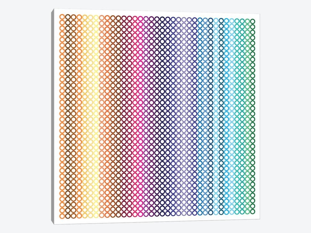 Modern Art- Pride Pattern ll by 5by5collective 1-piece Canvas Print
