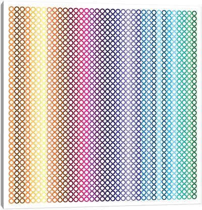 Modern Art- Pride Pattern ll Canvas Art Print