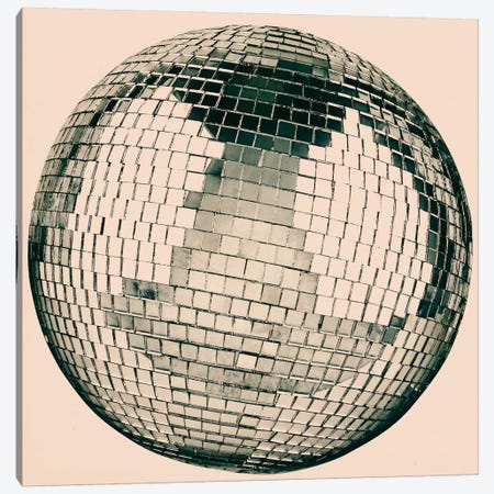 Modern Art- Disco Ball Canvas Print #MA418} by 5by5collective Canvas Wall Art