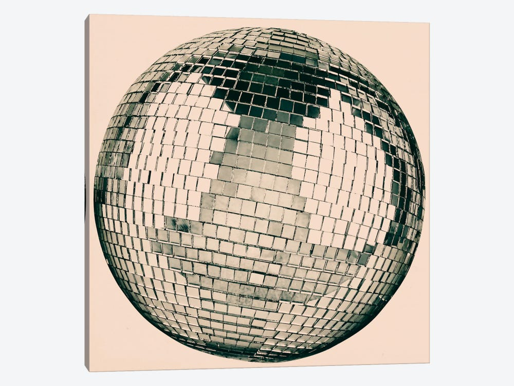 Modern Art- Disco Ball by 5by5collective 1-piece Canvas Art Print