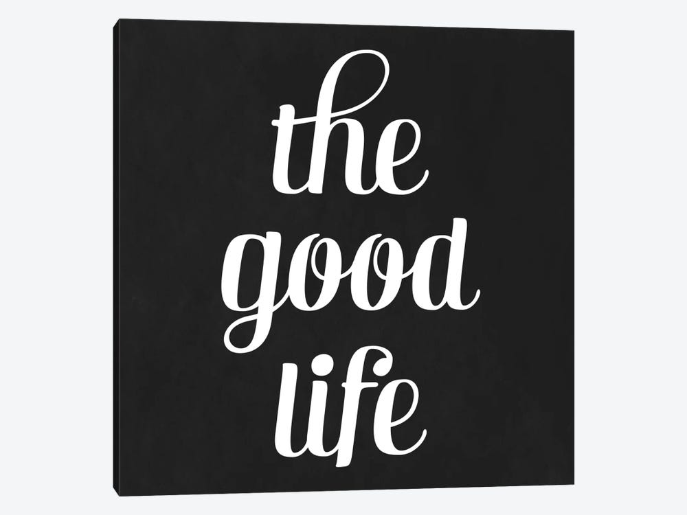 Modern Art- The Good Life by 5by5collective 1-piece Canvas Artwork