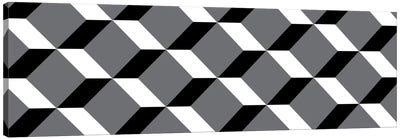 Modern Art- Cuboids Canvas Print #MA428