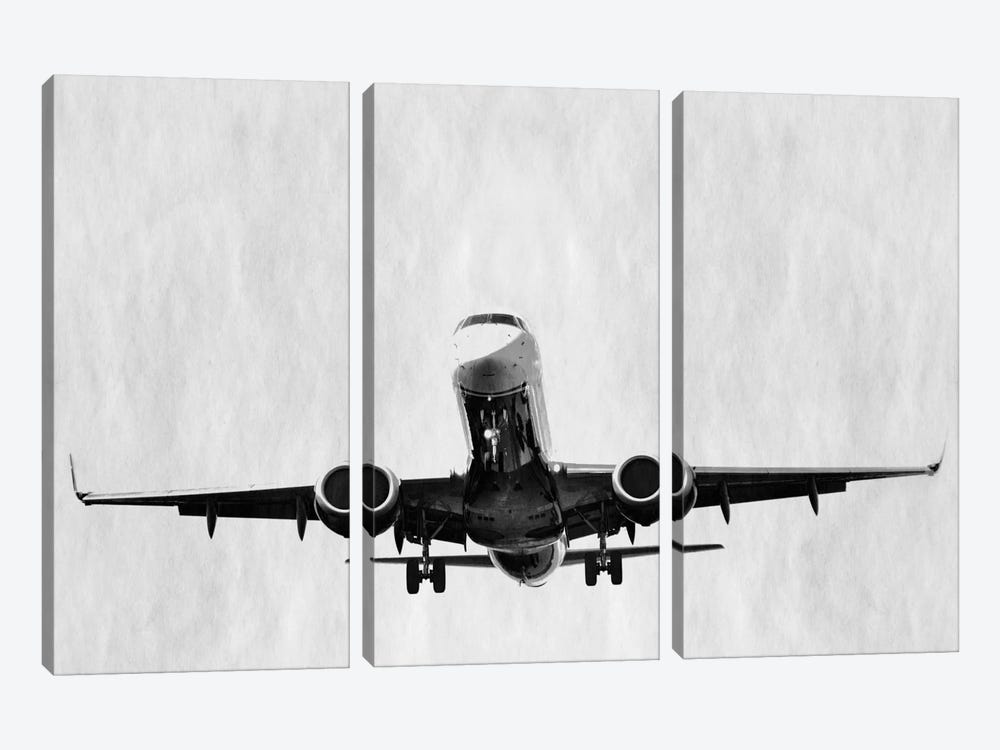 Modern Art- Takeoff by 5by5collective 3-piece Canvas Artwork