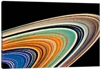 Modern Art - Rings of Saturn Canvas Art Print
