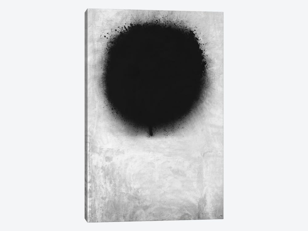 Modern Art - A Negative Sun by 5by5collective 1-piece Canvas Art