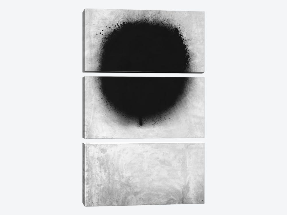 Modern Art - A Negative Sun by 5by5collective 3-piece Canvas Artwork