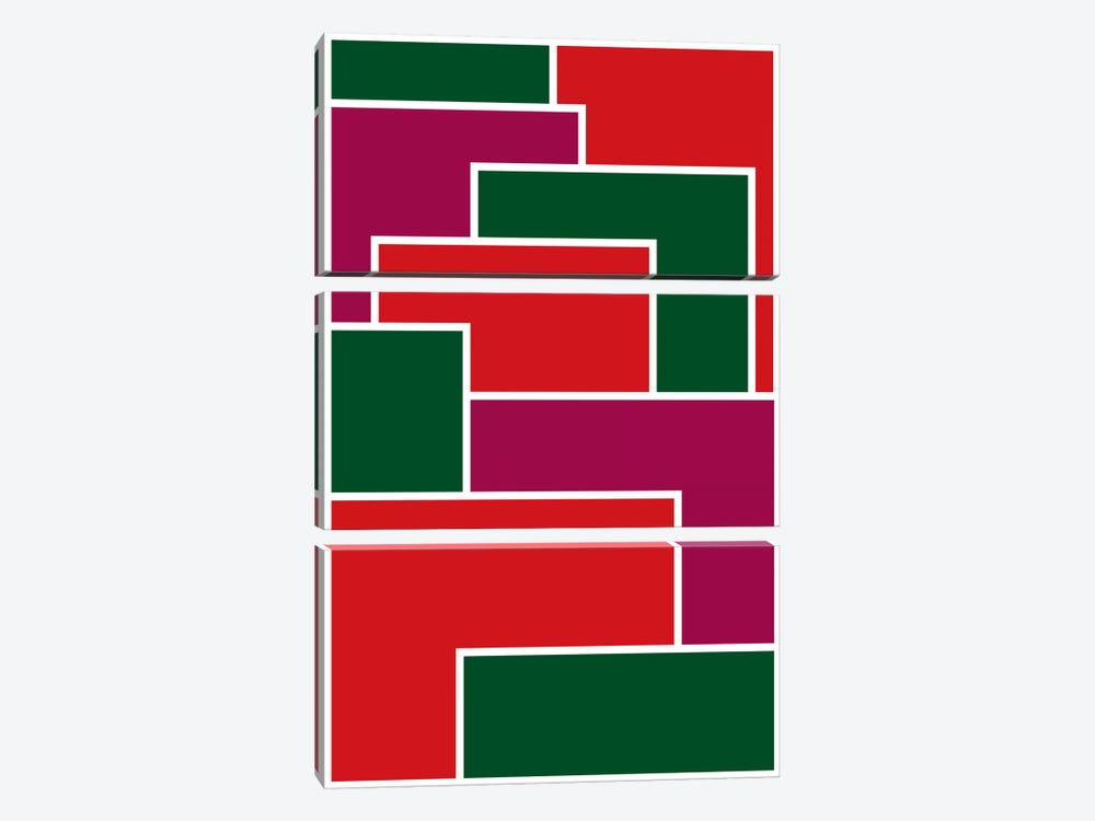Modern Art - Made to Fit ll by 5by5collective 3-piece Canvas Art