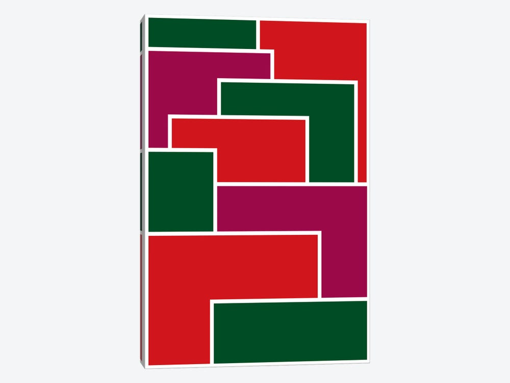 Modern Art - Made to Fit ll by 5by5collective 1-piece Canvas Artwork
