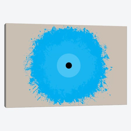 Modern Art- Cool Blue Canvas Print #MA474} by 5by5collective Art Print