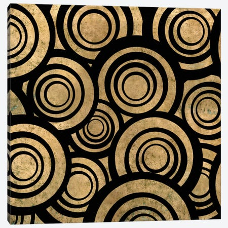 Modern Art- Overlapping Circle Pattern Canvas Print #MA484} by 5by5collective Canvas Art