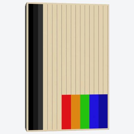 Modern Art - Rainbow Silo Canvas Print #MA489} by 5by5collective Canvas Art Print