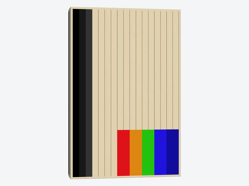 Modern Art - Rainbow Silo by 5by5collective 1-piece Canvas Print
