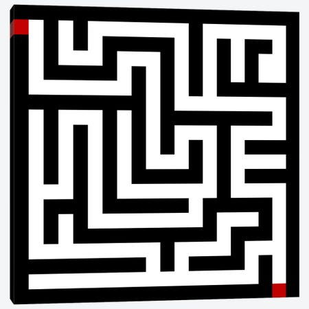 Modern Art- Labyrinth Canvas Print #MA492} by 5by5collective Canvas Art