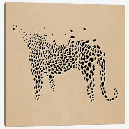 Modern Art- Leopard Print Canvas Print #MA4} by 5by5collective Art Print