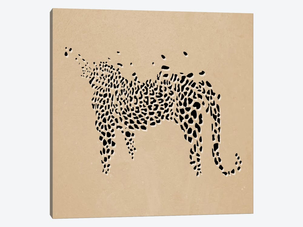 Modern Art- Leopard Print by 5by5collective 1-piece Art Print