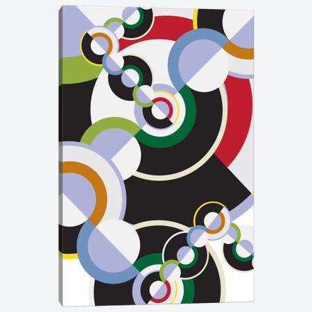Modern Art- Clockwork Canvas Print #MA56} by 5by5collective Art Print