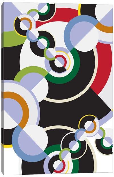 Modern Art- Clockwork Canvas Art Print