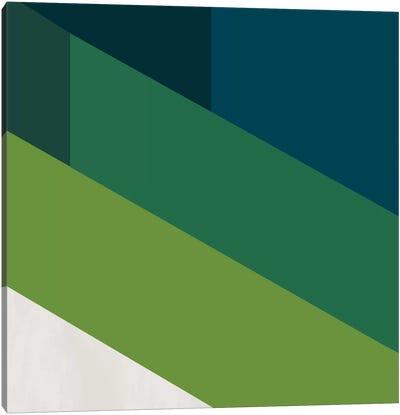 Modern Art- Green Blades of Grass Canvas Print #MA58