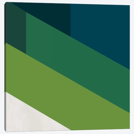 Modern Art- Green Blades of Grass Canvas Print #MA58} by 5by5collective Canvas Wall Art