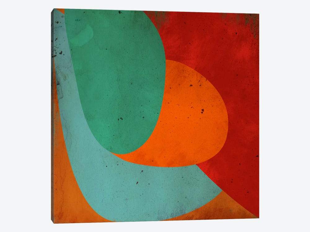 Modern Art- Apple on the Tree 1-piece Canvas Wall Art