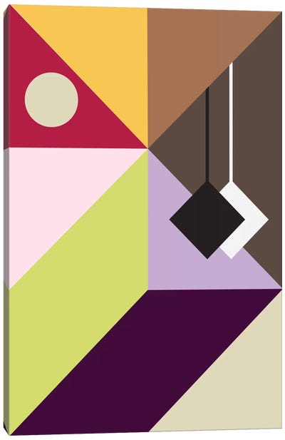 Modern Art - Pendulum Canvas Art Print