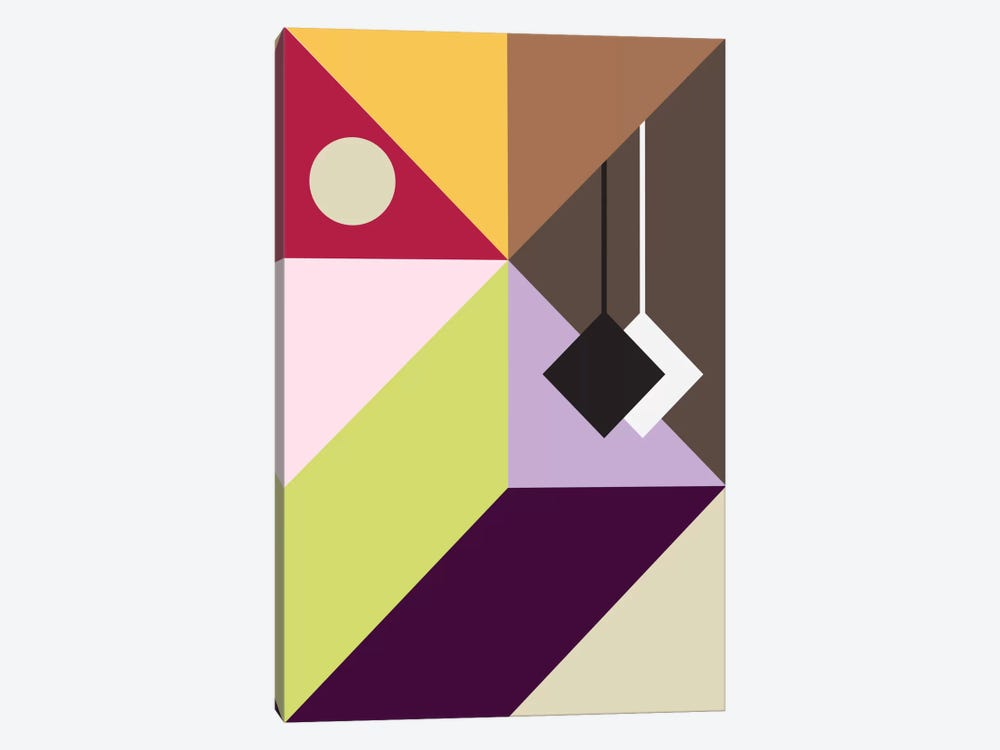 Modern Art - Pendulum by 5by5collective 1-piece Canvas Artwork
