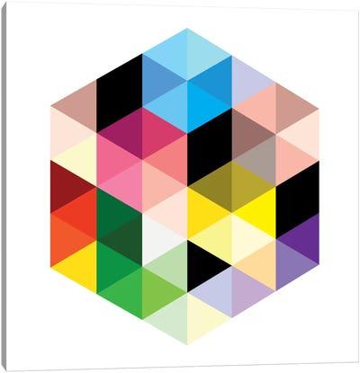 Modern Art- Cuboids lll Canvas Art Print