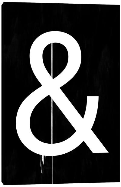 Modern Art - Symbol & Canvas Print #MA68