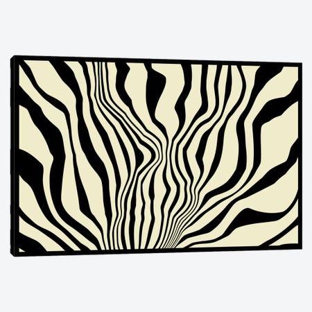 Modern Art - Zebra Print Canvas Print #MA82} by 5by5collective Art Print