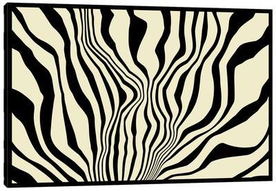 Modern Art - Zebra Print Canvas Art Print