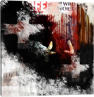 Modern Art- The Wild World Canvas Print #MA8