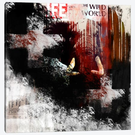 Modern Art- The Wild World Canvas Print #MA8} by 5by5collective Canvas Wall Art
