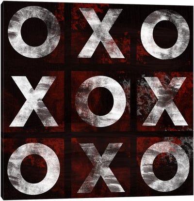 Modern Art- X's & O's Canvas Print #MA9