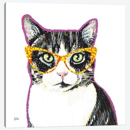 Bespectacled Pet III Canvas Print #MAA10} by Melissa Averinos Art Print