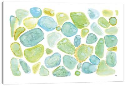 Seaglass Abstract Canvas Art Print