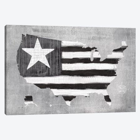 See the USA Americana BW Canvas Print #MAA13} by Melissa Averinos Canvas Print