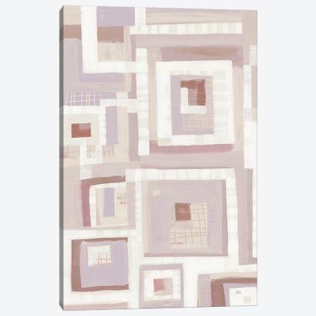Harbor Windows VII Blush Canvas Print #MAA1} by Melissa Averinos Canvas Wall Art