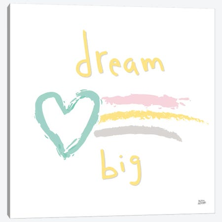 Rainbow Dream III Canvas Print #MAA20} by Melissa Averinos Canvas Wall Art
