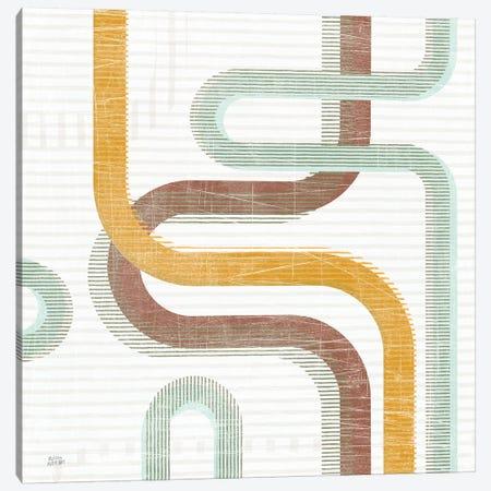 Subway Lines I Canvas Print #MAA25} by Melissa Averinos Art Print