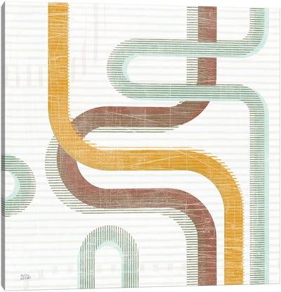 Subway Lines I Canvas Art Print