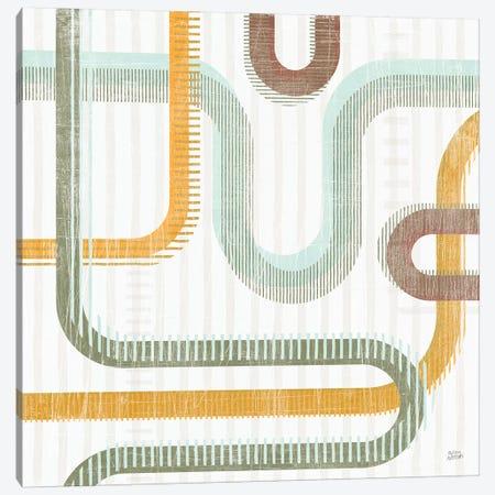 Subway Lines II Canvas Print #MAA26} by Melissa Averinos Art Print