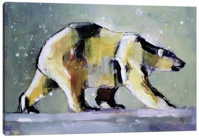 Ice Bear Canvas Art Print