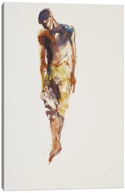 Man Canvas Art Print