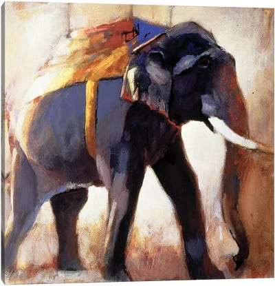 Shivaji, Khana Canvas Art Print