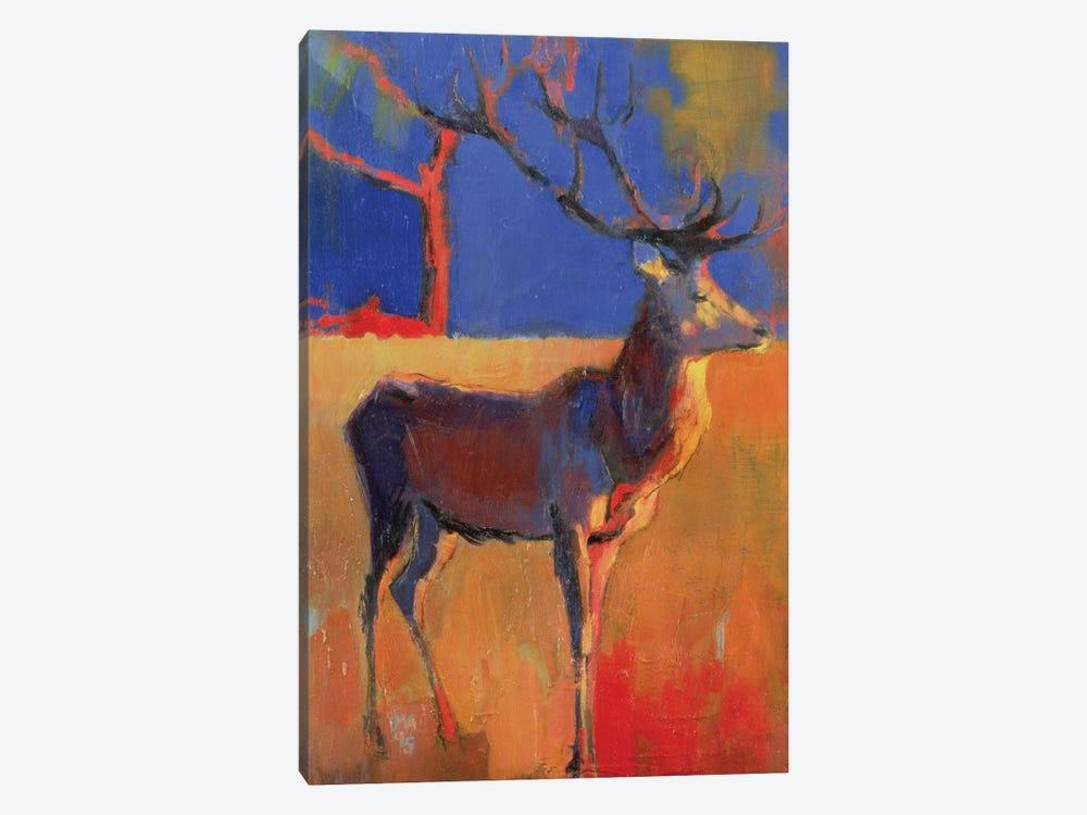 The Red Tree by Mark Adlington 1-piece Canvas Art Print