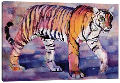 Tigress, Khana, India Canvas Art Print