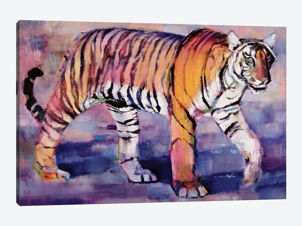Tigress, Khana, India by Mark Adlington 1-piece Canvas Art