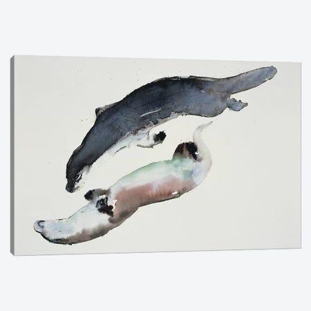 Yin Yang Canvas Print #MAD36} by Mark Adlington Canvas Art Print