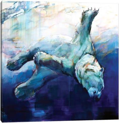 Arc of the Diver, 2016 Canvas Art Print